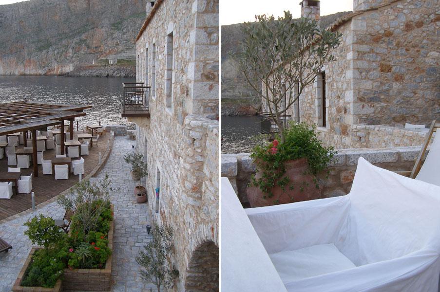 """Το πιο ρομαντικό ξενοδοχείο της Ευρώπης, """"Κυρίμαι"""", Μάνη, Γερολιμένας,"""