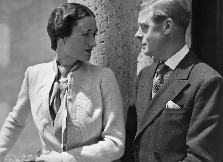 King Edward VIII, Wallis Simpson.