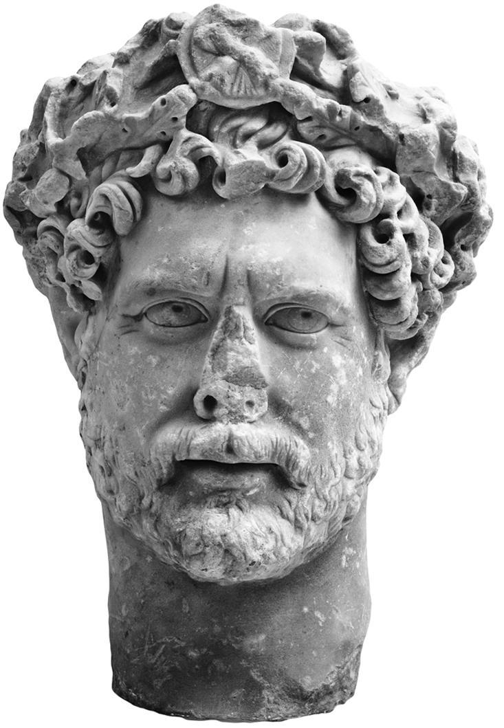 Μουσείο της Ακρόπολης, Αυτοκράτωρ Αδριανός,