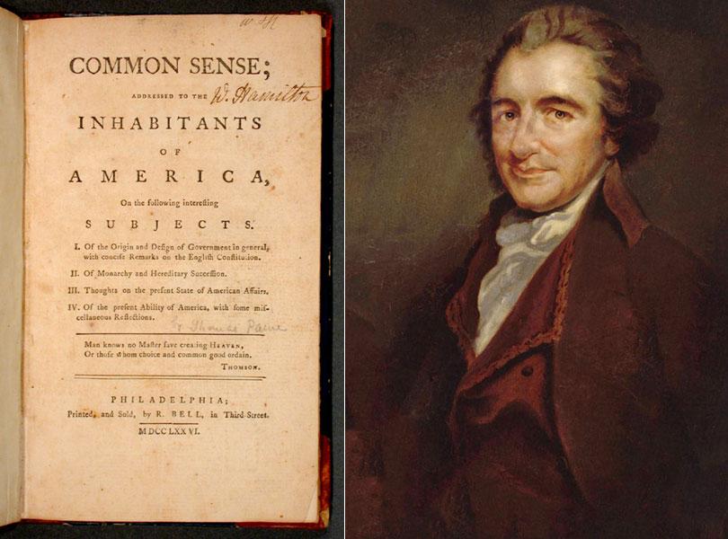 Thomas Pane, Common Sense
