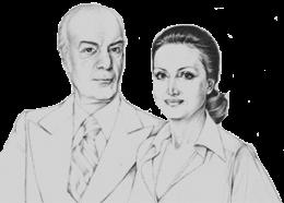 Βασίλης και  Ελίζα Γουλανδρή.