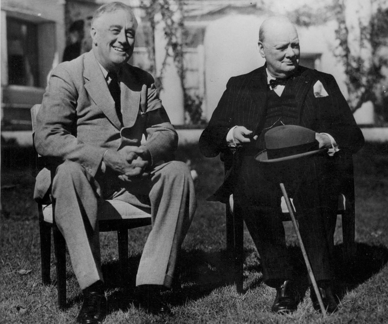 Winston Churchill, Franklin D. Roosevelt