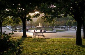 Σπιανάδα, Κέρκυρα, Πλατεία