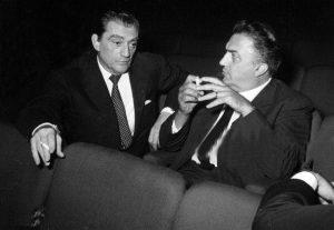 Luchino Visconti, Federico Fellini