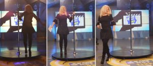 Αννίτα Πάνια, Κάνε μου Like, Τηλεόραση, Νίκος Μουρατίδης backstage