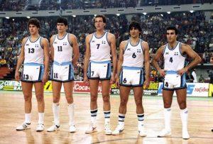 Εθνική Ελλάδος, Ευρωπαϊκό πρωτάθλημα, Σοβιετική Ένωση με 103-101.