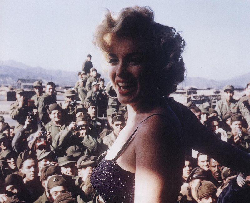 NOSTALGIA, Η Marilyn στην Κορέα, KOREA, MARILYN MONROE, ΤΟ BLOG ΤΟΥ ΝΙΚΟΥ ΜΟΥΡΑΤΙΔΗ, nikosonline.gr