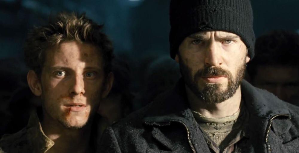 Jamie-Bell-and-Chris-Evans-in-Snowpiercer-2013-Movie-Image