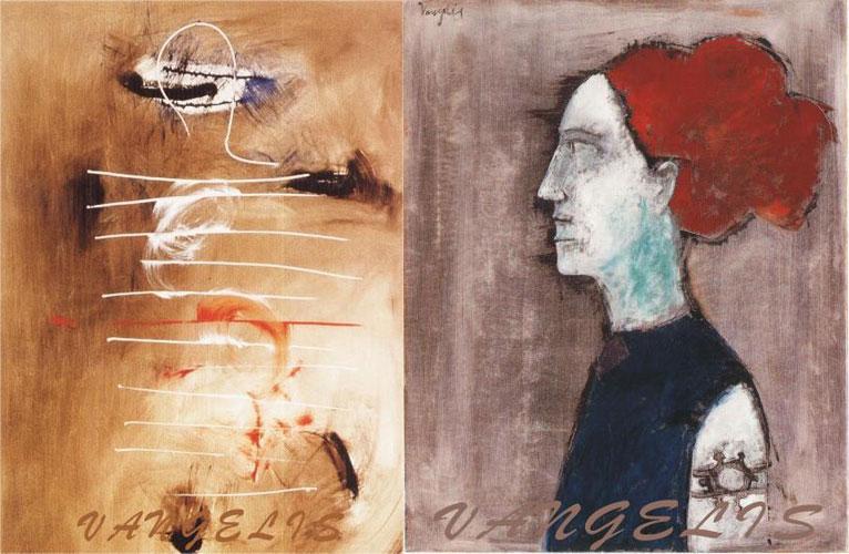 Βαγγέλης Παπαθανασίου, ζωγραφική, έργα τέχνης, έκθεση