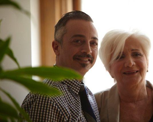 Χάρης Μαυρομιχάλης- Olympia Dukakis