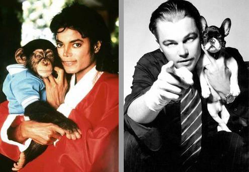Michael Jackson-Leonardo Di Caprio