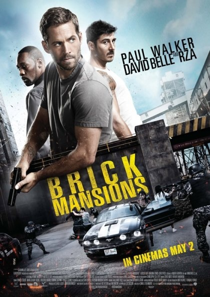brickmansions, Cinema, Paul Walker, Brick Mansions, Nikos On Line