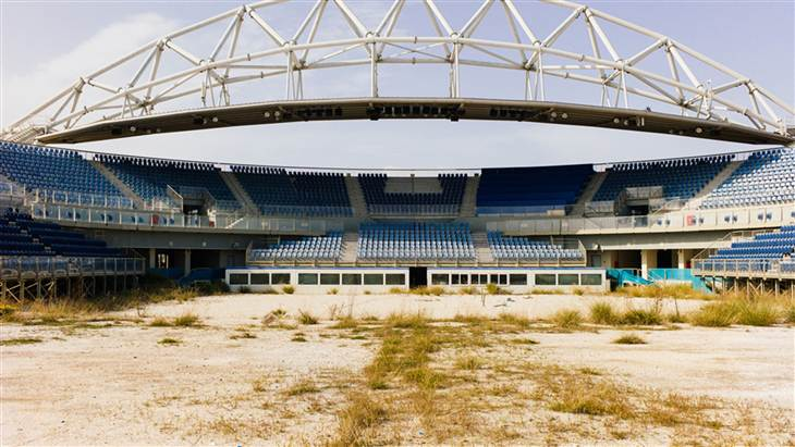 2014 today-olympic-stadium  Η κατάντια των Ολυμπιακών ακινήτων στην Αθήνα