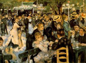 Pierre-Auguste Renoir, «Bal du moulin de la Galette»