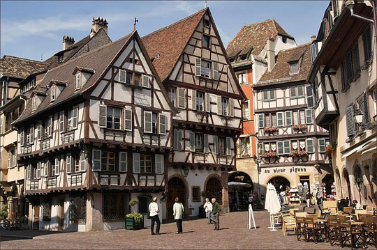 Colmar, πόλη, Γαλλία, Αλσατία, ταξίδι