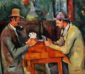 Paul Sezan, «The Card Players»