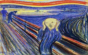Edvard Munch, «Skrik» (Η Κραυγή)