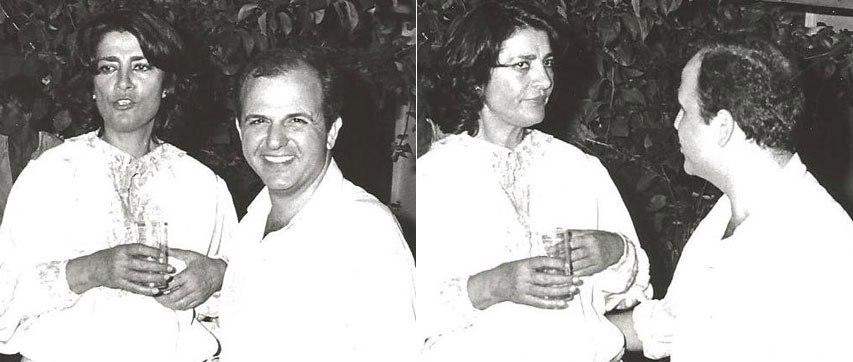 Ειρήνη Παπά, Νίκος Μουρατίδης