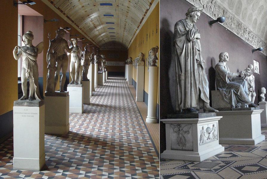 Μουσείο, Bertel Thorvaldsen, γλύπτης