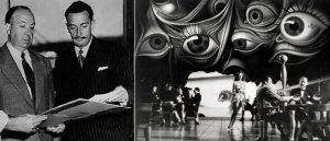 Alfred-Hitchcock, Άλφρεντ Χιτσκοκ, Salvatore Dali