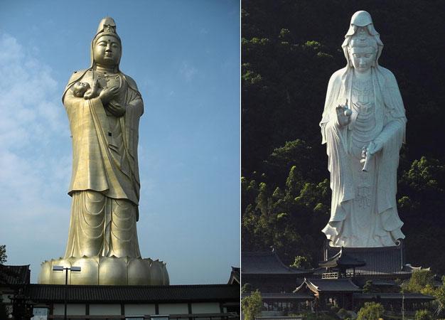 Τα πιο ψηλά αγάλματα στον κόσμο……
