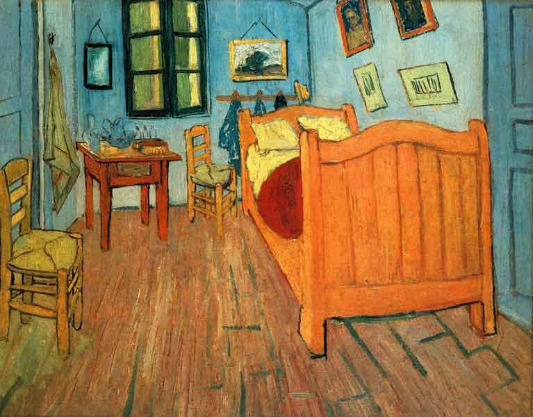2_Bedroom in Arles, 1888.