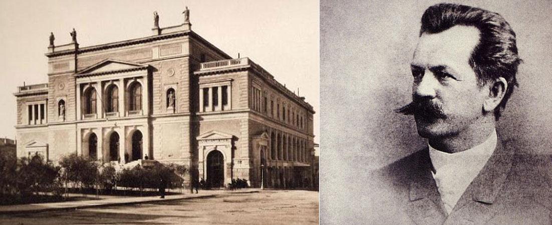 Ερνέστος Τσίλερ, Ernst Ziller, αρχιτέκτονας, ιστορικά κτίρια