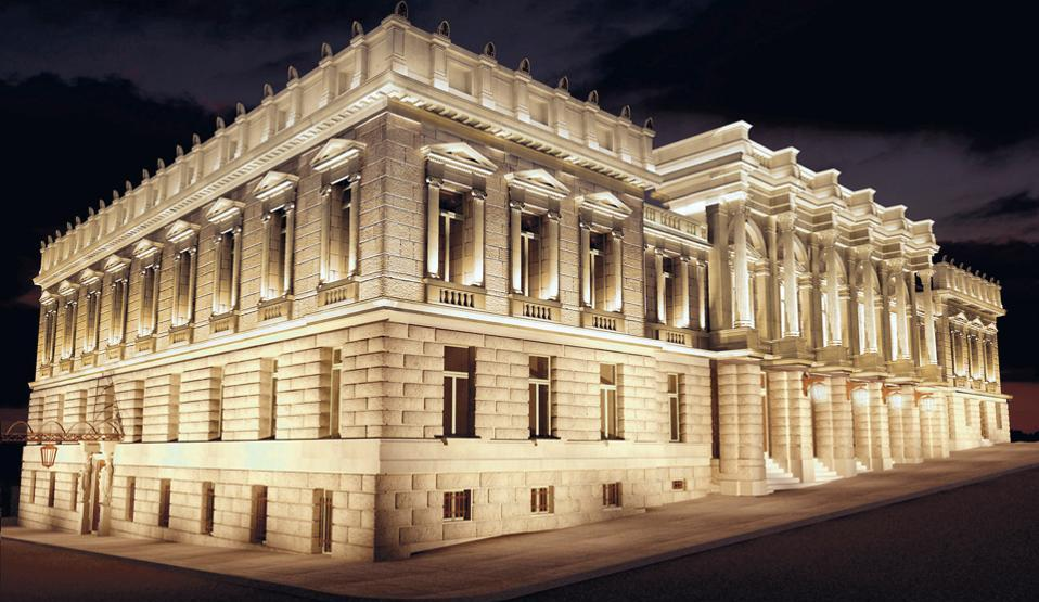 Εθνικό θέατρο, Ερνέστος Τσίλερ, Ernst Ziller, αρχιτέκτονας, ιστορικά κτίρια
