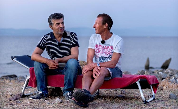 Ο 50χρονος Μοχάμαντ από τη Συρία και ο Γιαν