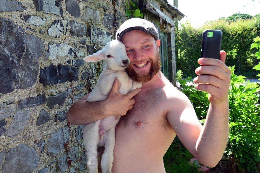 gareth-selfie-w-goat