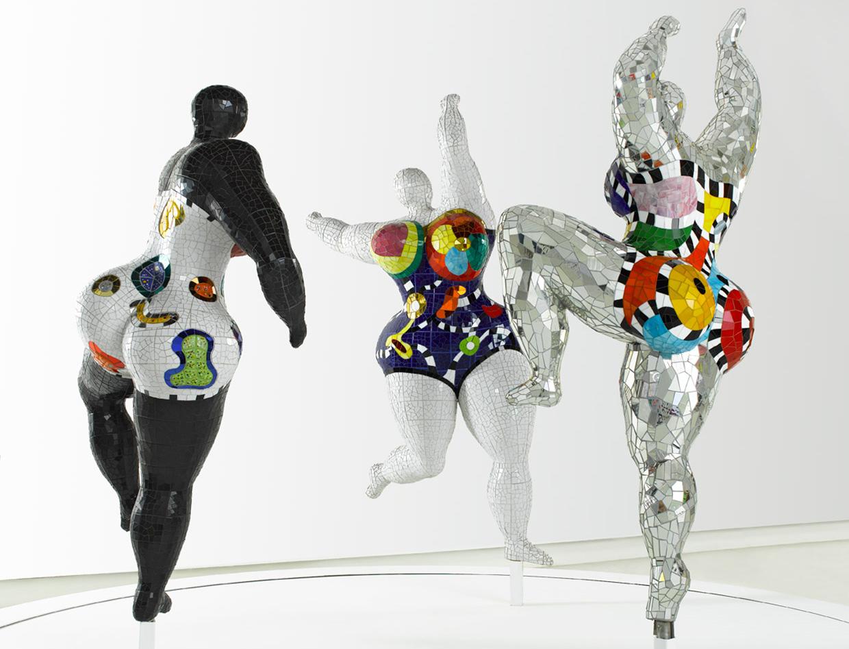 Les Trois Graces, 1995 - 2003