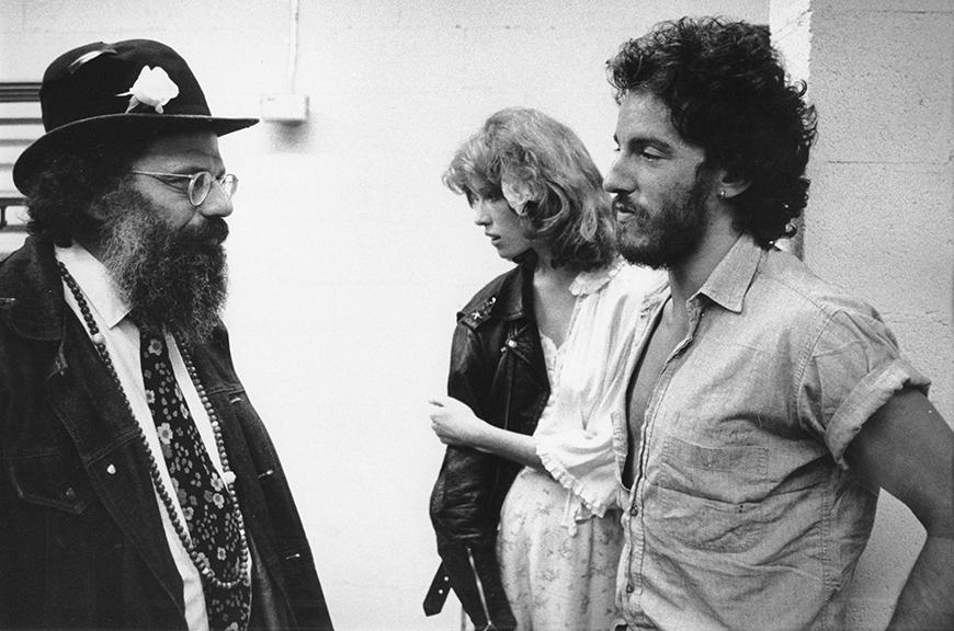Allen-Ginsberg, Άλεν Γκινσμπεργκ, Bruce Springsteen