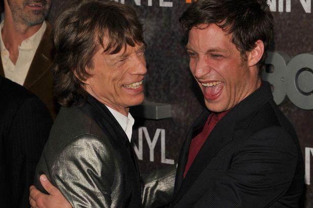 Mick-Jagger-and-James-Jagger, Βινύλιο, Vinyl, Mick Jagger, Martin Scorsese, TV series, Τηλεοπτική σειρά, nikosonline.gr