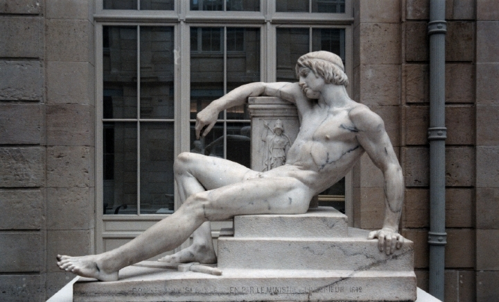 Orestes 2 at Athena's temple. 4402 Pierre-Charles Simart 1806-1857