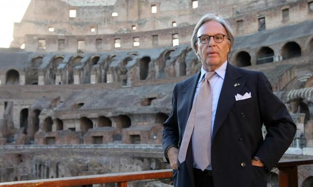 2 The head of Tod's, a luxury Italian shoe company, Diego Della Valle.