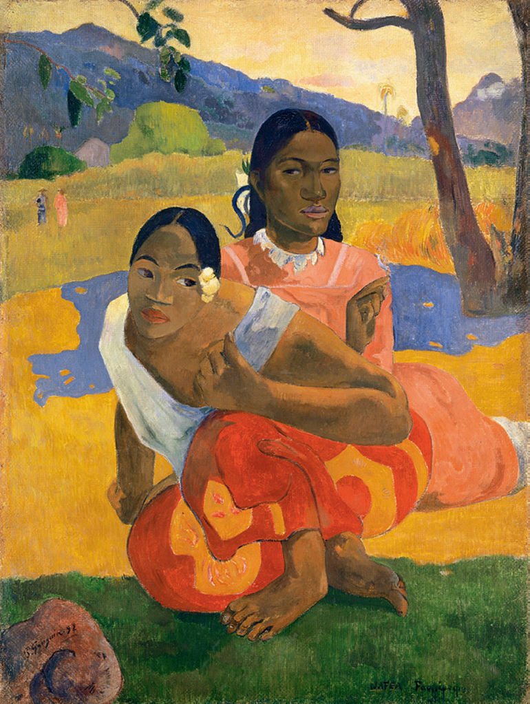Paul_Gauguin,_Nafea_Faa_Ipoipo, ΕΙΚΑΣΤΙΚΑ, ΖΩΓΡΑΦΙΚΗ, Paul Gauguin, ΠΟΛ ΓΚΟΓΚΕΝ, ΤΑΪΤΗ, ΤΟ BLOG ΤΟΥ ΝΙΚΟΥ ΜΟΥΡΑΤΙΔΗ, nikosonline.gr,