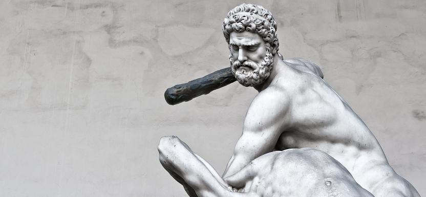 bigstock-Hercules-Beating-The-Centaur-N-82638881