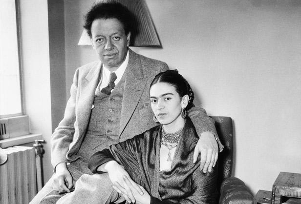 Diego Rivera, Frida Kahlo,