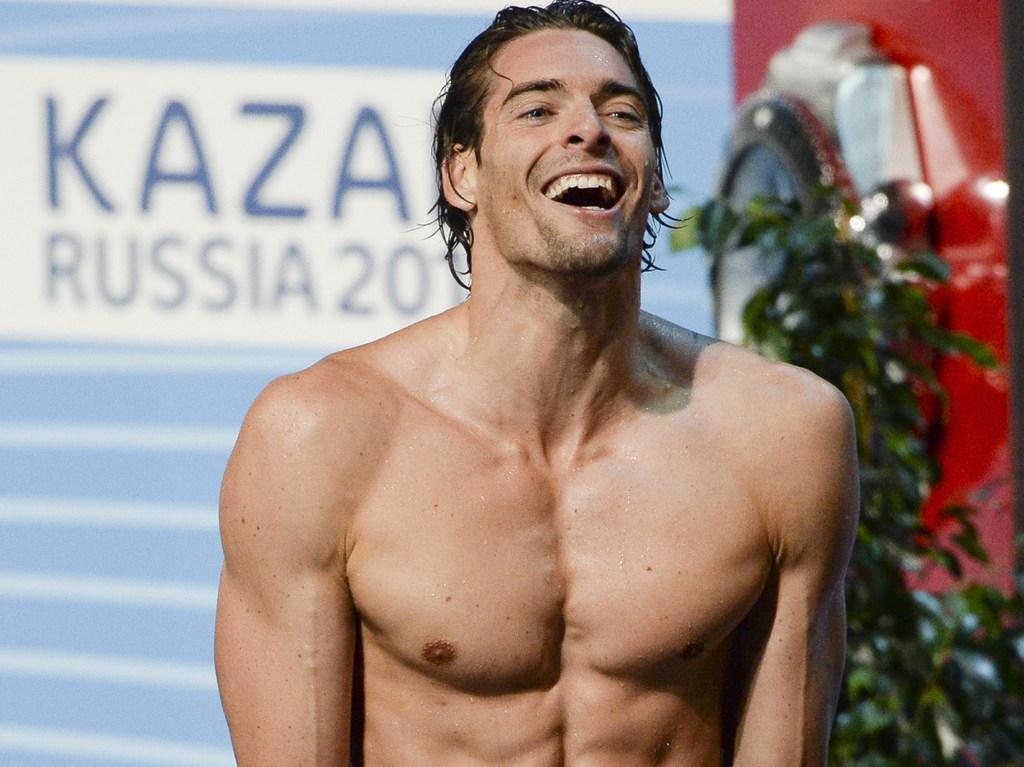 Camille Lacourt, Γάλλος κολυμβητής