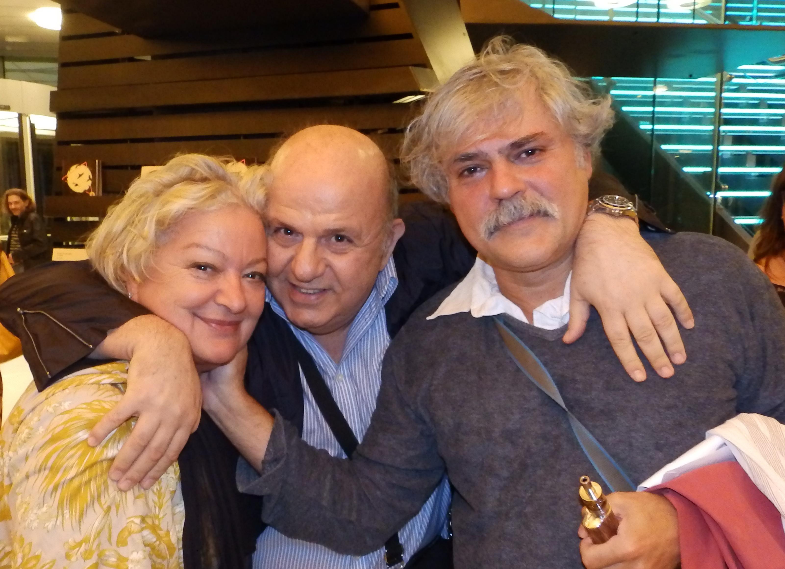 Τάνια Τσανακλίδου, Νίκος Μουρατίδης, Νίκος Καραθάνος