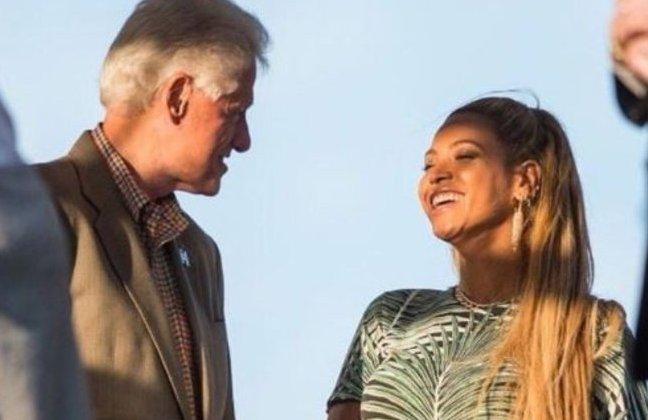Bill Clinton, Beyonce
