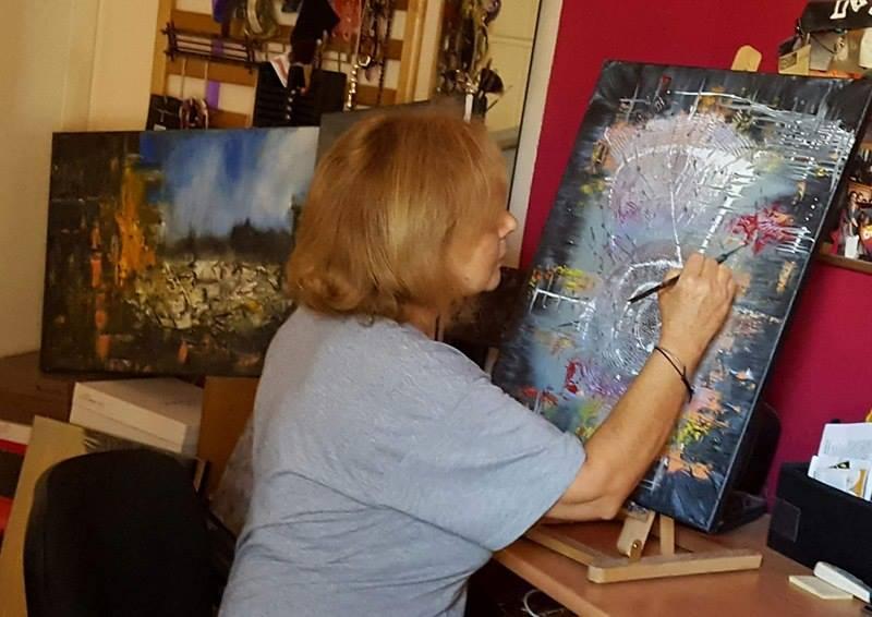 Μαρία Καλαντζή, ζωγράφος