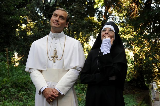 The yong pope, Jude Law, Diane Keaton