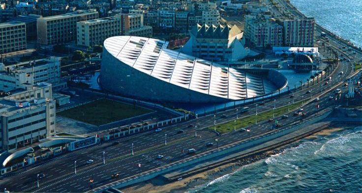 Βιβλιοθήκη Αλεξάνδρειας- Αίγυπτος