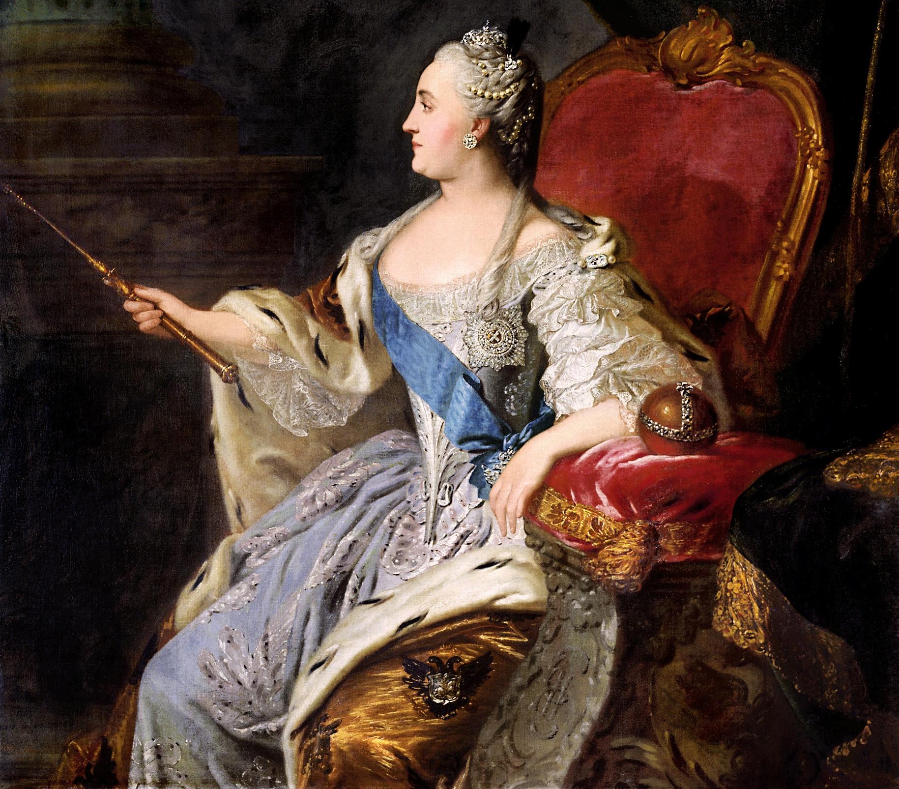 Μεγάλη Αικατερίνη, Τσαρίνα, Αυτοκράτειρας Ρωσίας,