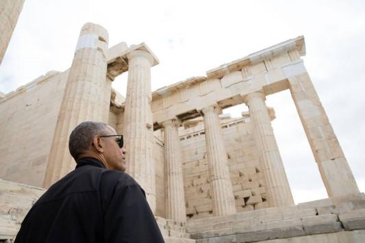 obama_akropoli, ΜΠΑΡΑΚ ΟΜΠΑΜΑ, ΑΚΡΟΠΟΛΗ