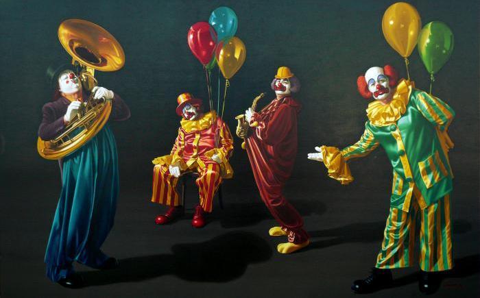 ζωγράφος, εικαστικά, φωτορεαλισμός,Stavros Douzinas, Σταύρος Δουζίνας, ζωγραφική, art, clown, Κλοουν, nikosonline.gr