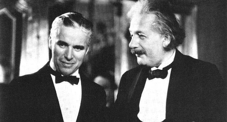 Τσάρλι Τσάπλιν, Άλμπερτ Αϊνστάιν