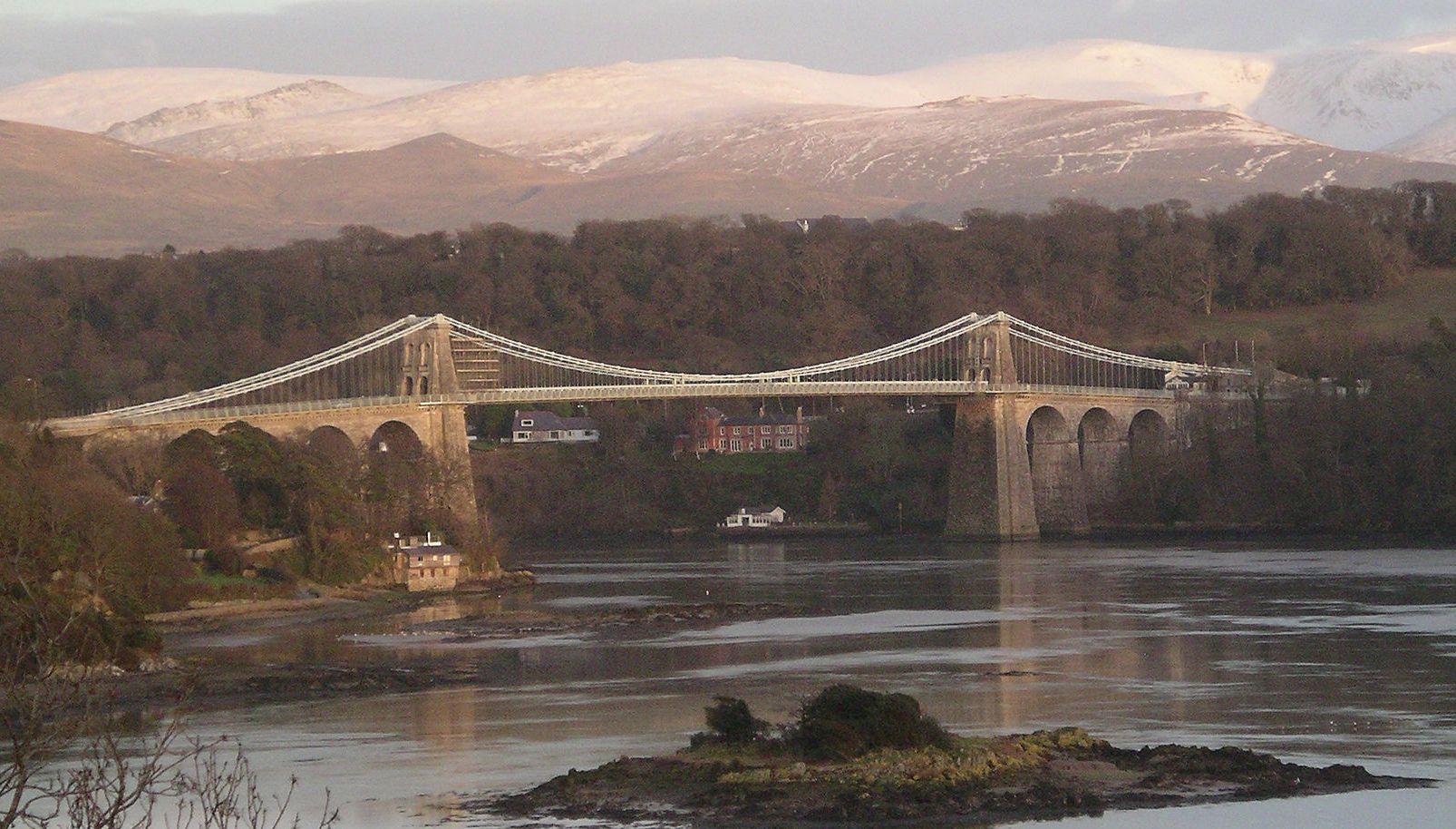 Menai Bridge,