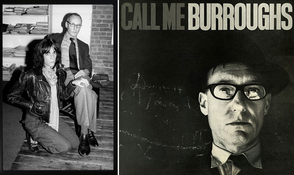 William Burroughs, Γουίλιαμ Μπάροουζ, συγγραφέας, Beat Generation, Patti Smith